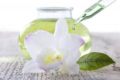 Fototapeta Huile Essentielle d'Orchidee