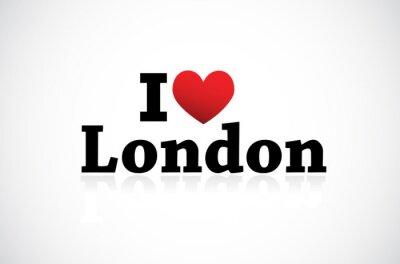 Fototapeta I Love London