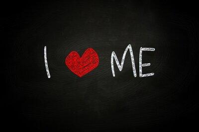 Fototapeta I Love Me
