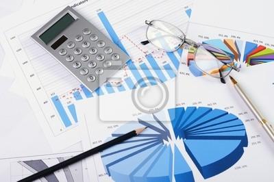 Fototapeta i wykresy sprzedaży
