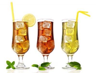 Fototapeta Ice tea mix
