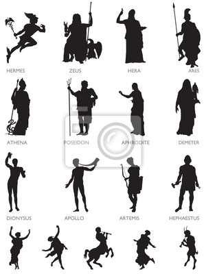 Igrzyska Bogów i postaci mitologicznych
