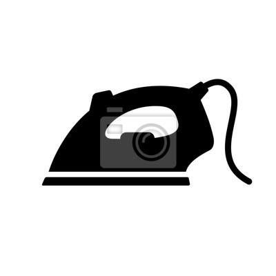 Fototapeta ikona żelaza