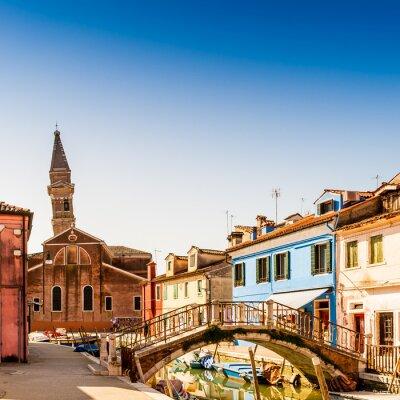 Fototapeta Ile de Burano à Venise, Italie
