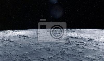 Fototapeta Ilustracji księżyc naukowe