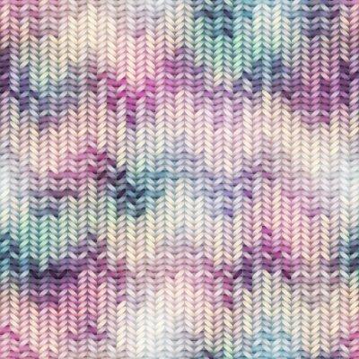 Fototapeta Imitation Sweater knit Melange effect