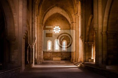 Fototapeta Inside deserted Abbey