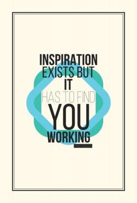 Fototapeta Inspiracja motywacja plakat