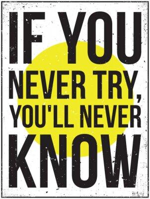 Fototapeta inspiracja motywacja plakat. Grunge