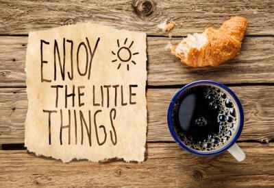 Fototapeta Inspirational early morning breakfast