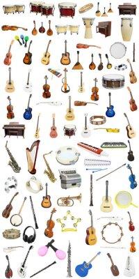 Fototapeta Instrumenty muzyczne