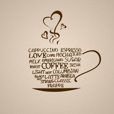 Fototapeta Izolowane ikonę filiżanki kawy