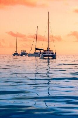 Fototapeta Jachty rekreacyjne na Oceanie Indyjskim