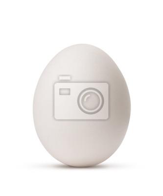 jaj na białym tle z wycinek ścieżki