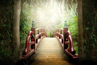 Fototapeta Japanese Bridge