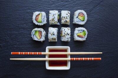 Fototapeta Japanese Food tray
