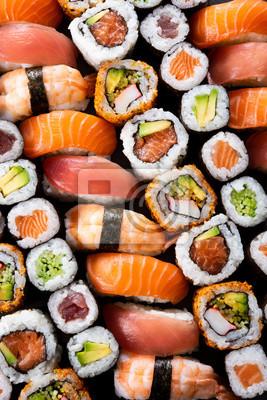 Fototapeta Japońska kolekcja sushi