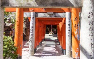Fototapeta Japoński Świątynia kapliczka drewniana brama