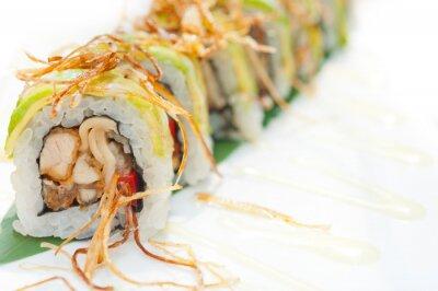 Fototapeta Japońskie sushi maki sushi