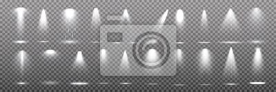 Fototapeta Jasne oświetlenie z reflektorami.