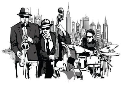 Jazz band w Nowym Jorku