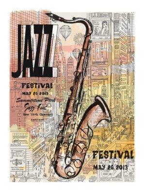 Jazz w Nowym Jorku, plakat