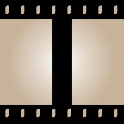 Fototapeta Jednolite Film Strip