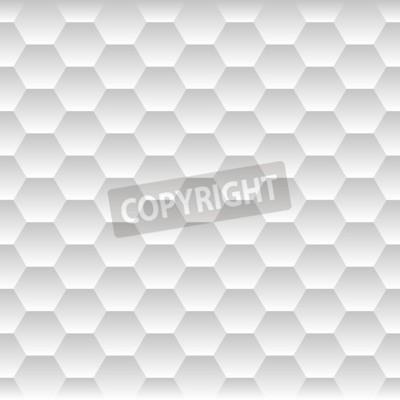 Fototapeta Jednolite Honeycomb. Hexagon Kontekst Pattern. ilustracji wektorowych