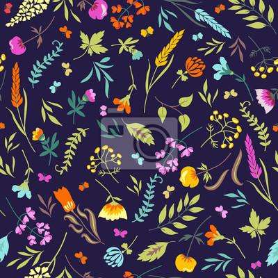 Jednolite kwiatowy wzór