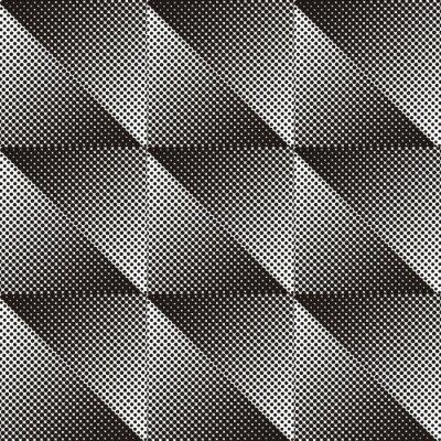 Fototapeta Jednolite wzór półtonów