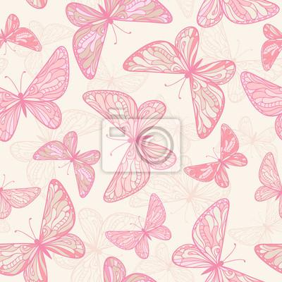 Jednolite wzór z motyli