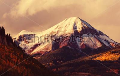 Fototapeta Jesień w górach Colorado