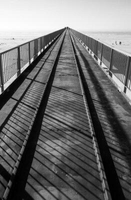 Fototapeta jetée vers la mer