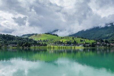 Fototapeta Jezioro górskie Thiersee w Tyrolu, Austria