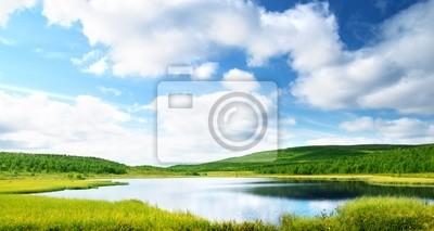 jezioro w północno góry