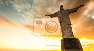 Fototapeta Jezus Chrystus nad Rio de Janeiro