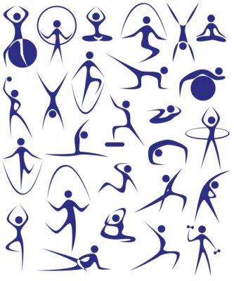 Fototapeta joga, fitness