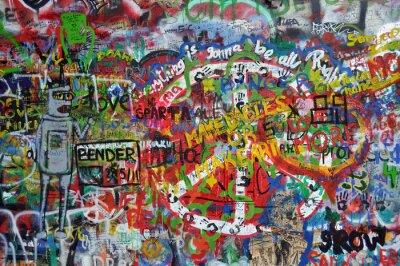 Fototapeta John Lennon ściana w Pradze