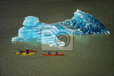 Kajakarstwo, Torres del Paine, Patagonia, Chile