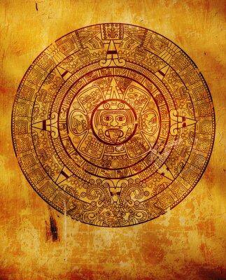 Fototapeta kalendarz Majów