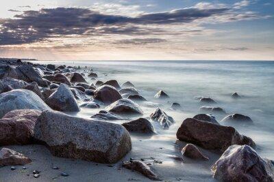 Fototapeta Kamienie na Bałtyku