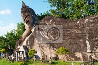 Kanapa Buddy w Buddha Park. Vientiane. Laos.