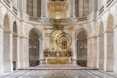 Fototapeta Kaplica w pałacu Versaille, Paryż, Francja