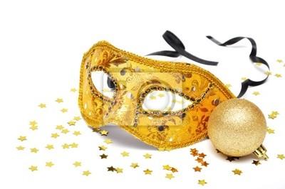 Karnawał złote maski