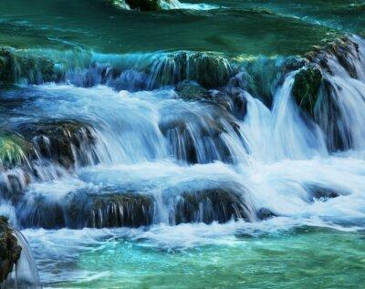 Fototapeta kaskada wodna