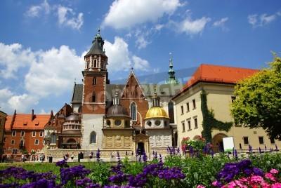 Fototapeta Katedra na Wawelu, Bazylika Katedra św. Stanisława i Wacława na Wawelu w Krakowie