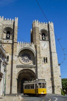 Fototapeta Katedra Se, z siedzibą w Lizbonie, Portugalia.