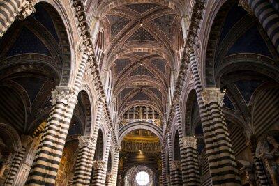 Fototapeta Katedra Siena w Toskanii