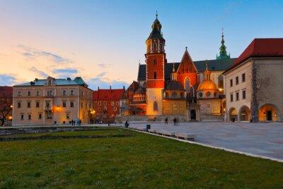 Fototapeta Katedra w Krakowie, Polska.