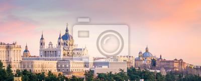 Fototapeta Katedra w Madrycie